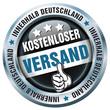 Kostenloser Versand - Innerhalb Deutschland - Button