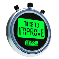 Time To Improve Message Meaning Progress And Improvement