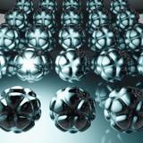 Nanotechnologie - 3D Render