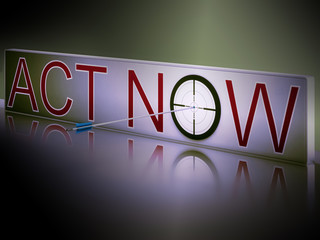 Act Now Shows Motivation To Respond Fast