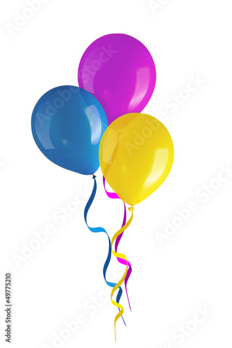 Children's party colorful balloons