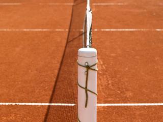 Tennisplatz Linien mit Netz 70