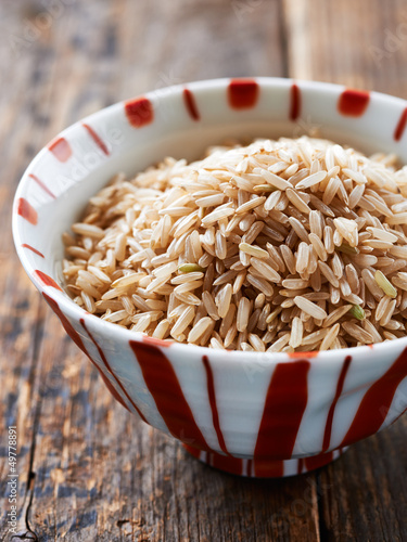Bowl of brown rice