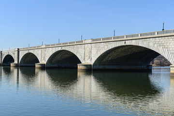 Key Bridge in Washington DC