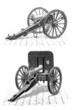 Militaria : Weapons - Canon & Mitrailleuse - 19th century