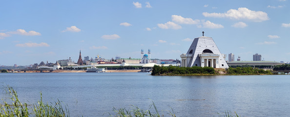 Memorial Church and Kazan Kremlin, Russia