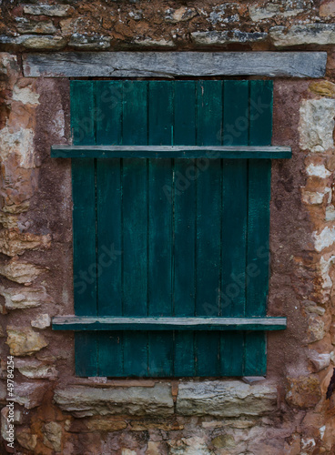 Antique Shutters of Province, France