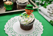 Irish Decorated Cupcake