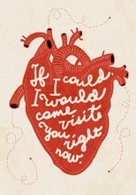 Valentinstag Vintage Typografie Vektor-Illustration