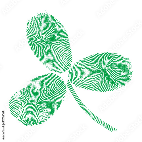 Shamrock fingerprint