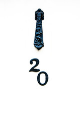 Wooden vintage door number 20