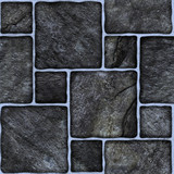 Black  marble-stone mosaic texture. (High.res.)
