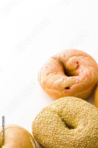 Fresh bagels Poster
