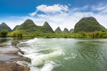 yulong river landscape
