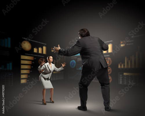 Business dispute