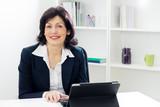 Charming mature businesswoman