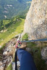 Dolomiti - via Ferrata col Rodella