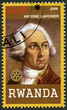 RWANDA - 2009: shows portrait of Antoine Lavoisier(1743-1794)