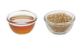 sesame oil and seeds