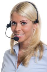 freundliche telefonistin