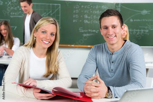 studenten im lehrgang