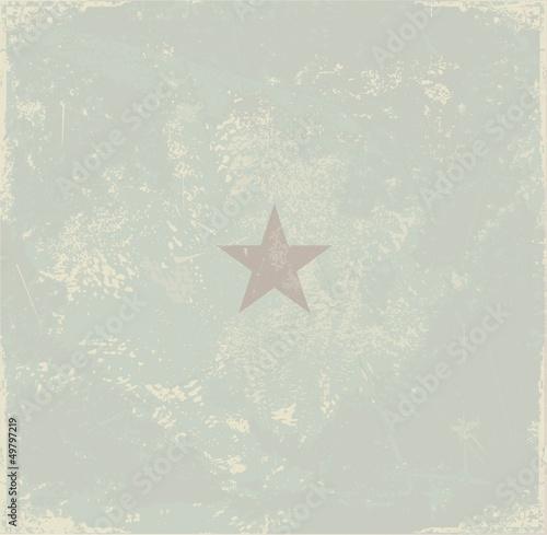 Retro star background