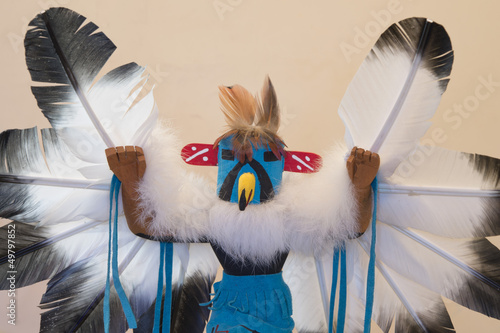 Navajo Indian Kachina doll detail