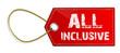 Schild All Inclusive