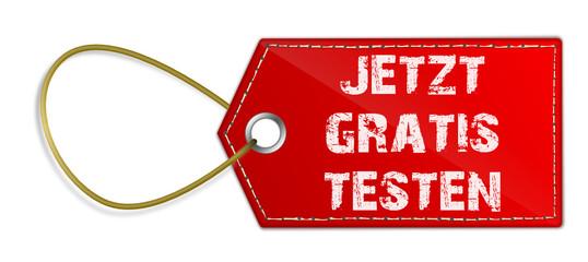 Schild gratis testen