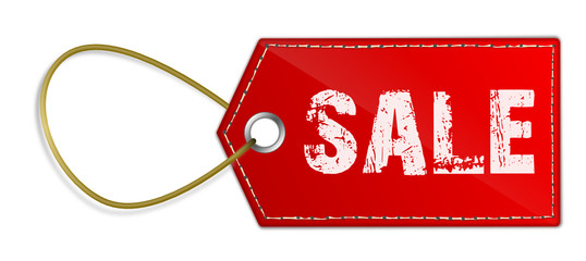 Preisschild Sale