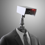 Robotic security camera