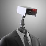 Fototapety Robotic security camera