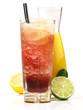 Margarita Cocktail mit Oragen- und Johannisbeersaft