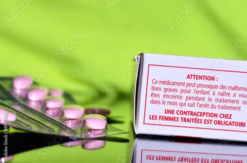 traitement,contre-indication chez les femmes enceintes