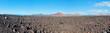 Panorama di un paesaggio vulcanico