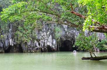 Entrance to the Puerto Princesa Subterranean River