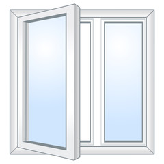Vector open window