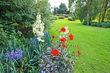 Beautiful old garden