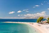 Fototapety Beach at Makarska, Croatia