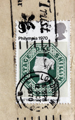Embossed Postage Stamp