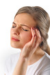 woman head pain