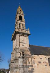 L'église saint Sauveur au Faou