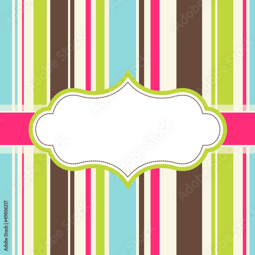 frame design for greeting card
