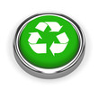 3d Green Recycle button