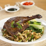 Roast Duck with Kway Teow Patt Thai; unsharpened file