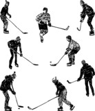 hockey players