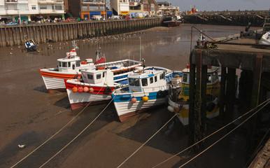 Fishing Boats, Bridlington,  Yorkshire, UK.