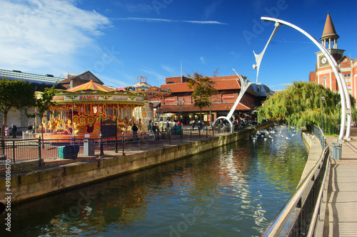 The Waterside Shopping Center, Lincoln, UK.