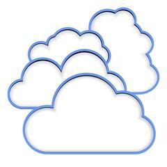 cloud cut blank