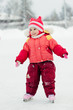 girl in skate on the ice